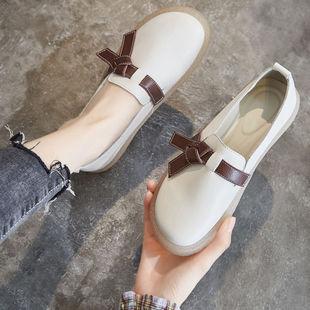 春秋百搭平底鞋孕妇鞋防滑软底