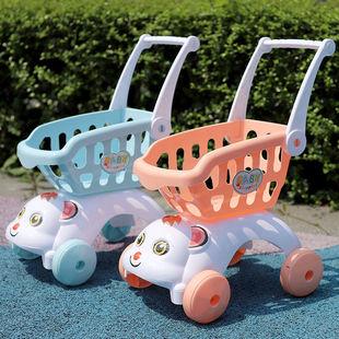 兒童過家家購物車切水果切切樂推車玩具