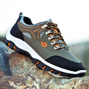 秋季男士户外登山鞋休閒跑步運動鞋
