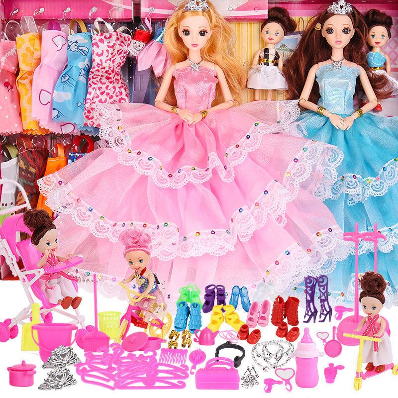 乖乖芭比娃娃公主一套洋娃娃生日礼物儿童小女孩玩具女孩