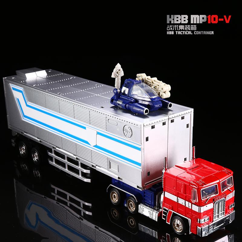 . MP10V Optimus M-cột biến dạng ngăn chứa đồ chơi mô hình cậu bé robot xe hơi King Kong - Đồ chơi robot / Transformer / Puppet cho trẻ em