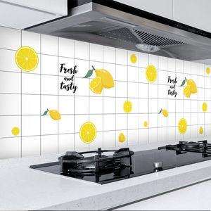厨房防油贴纸橱柜柜灶台用壁纸耐高温铝箔纸灶台家用防水自粘台面