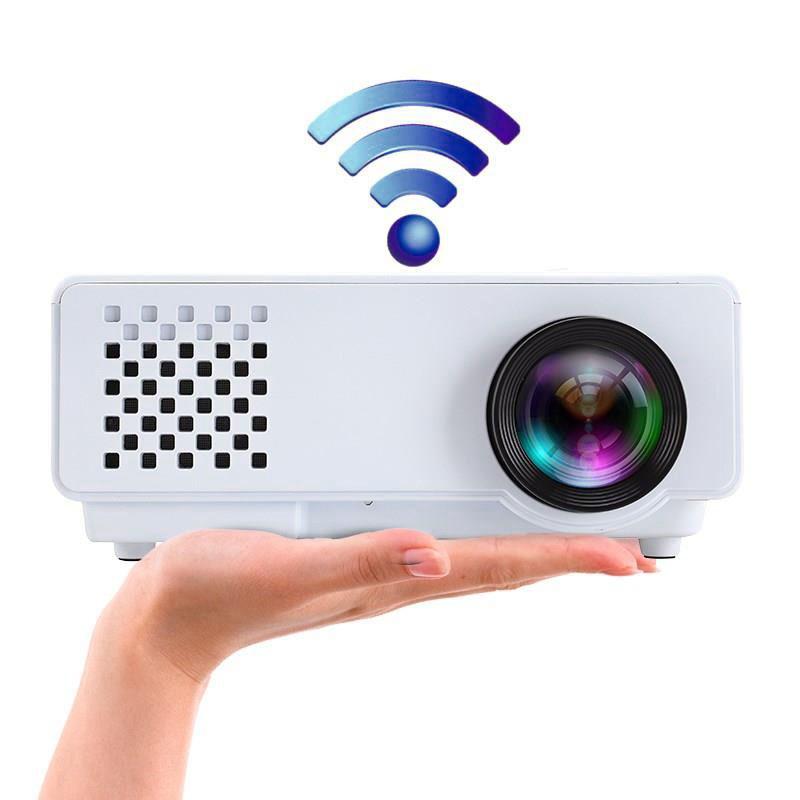 手机投影仪家用便携式墙上看电影办公高清智