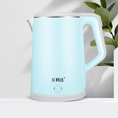 万利达烧水壶不锈钢保温热水壶家用电茶壶煲水壶开水壶全自动断电