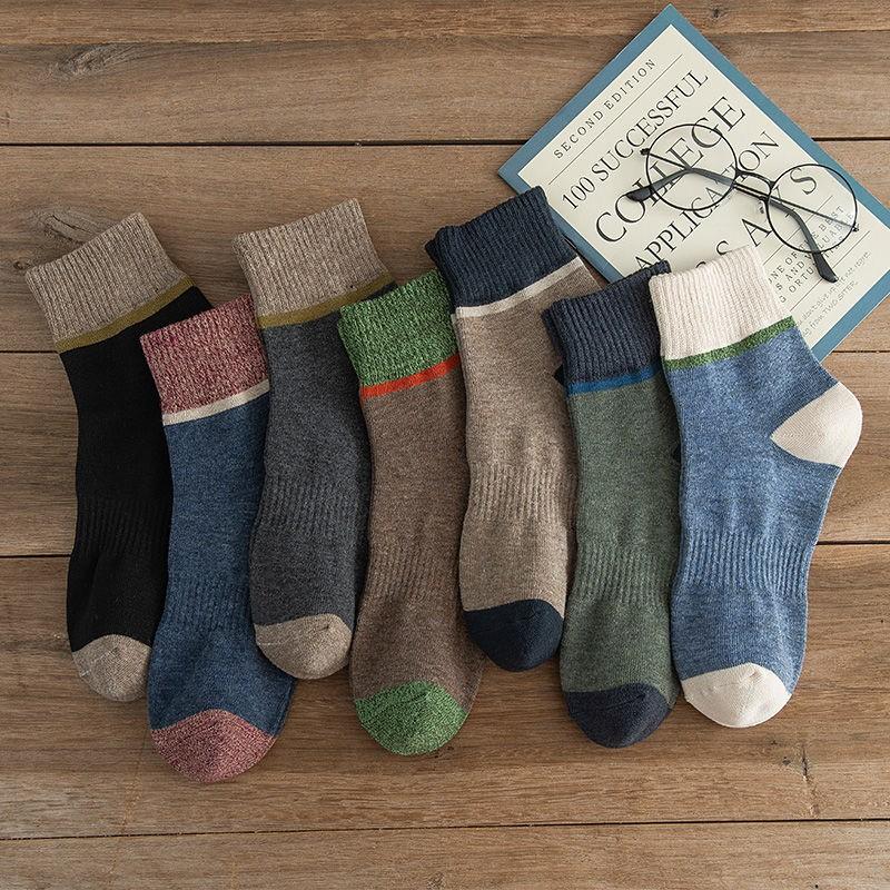 南极人袜子男中袜长袜男士秋冬男款中筒冬季