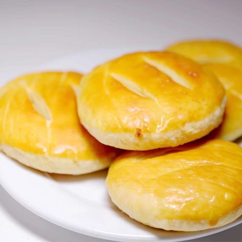 正宗老婆饼整箱香酥软糯烧饼好吃休闲零食点心软�糯营养早餐独立