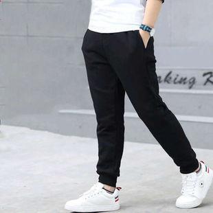 春夏季儿童长裤子男女通用弹性长裤