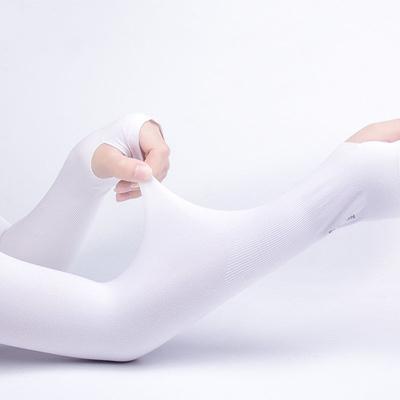 南极人夏季冰袖防晒袖套男女冰丝防紫外线手套手臂袖开车骑行护臂