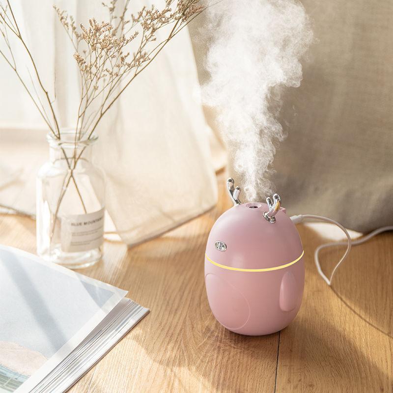 加湿器家用卧室迷你大雾容量空气学生静音usb办公室喷雾车载□ 香薰