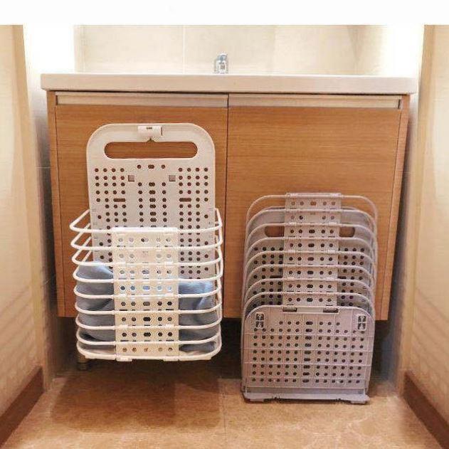 脏衣服收纳篮大号壁挂折叠脏衣篮卫生间换洗
