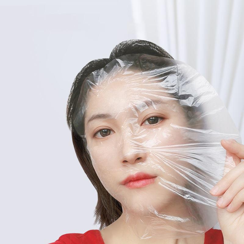 美容院一次性保鲜膜美容面膜贴塑料透明超薄