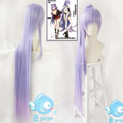 taobao agent Otaku cos/ Fate fgo Moon girlfriend BB Melt Lilith Kirizakura cos wig