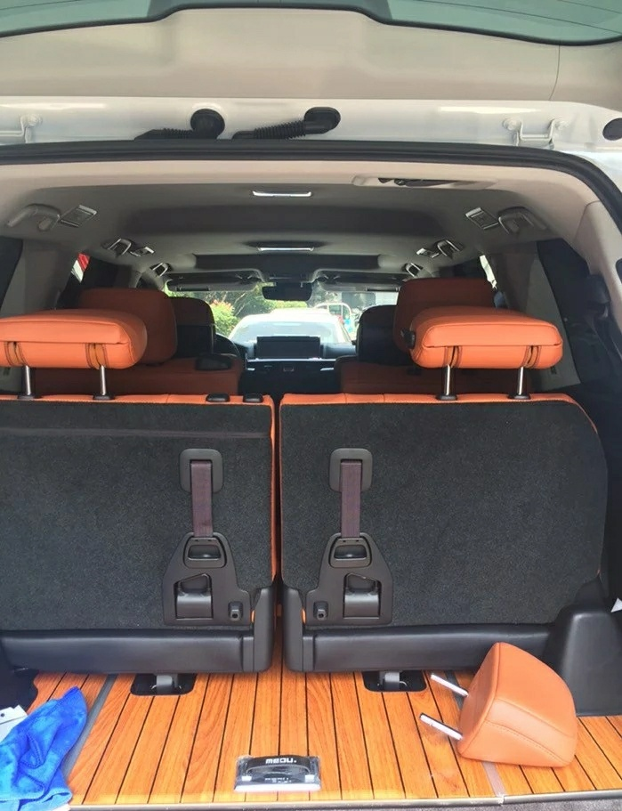 Solid Wood Trunk Mat Lexus 8 Seat Eight Lx570 Special Yacht Wooden Floor Box
