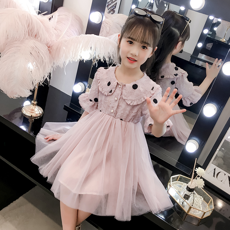 汉服复古仙女裙2020春夏新款女童连衣裙民族风公主裙可爱儿童洋气