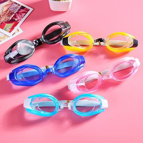 Kính bảo hộ trẻ em không thấm nước chống sương mù bảo vệ mắt lớn khung kính bơi nam và nữ HD trẻ em trong suốt bơi mặt nạ mắt!