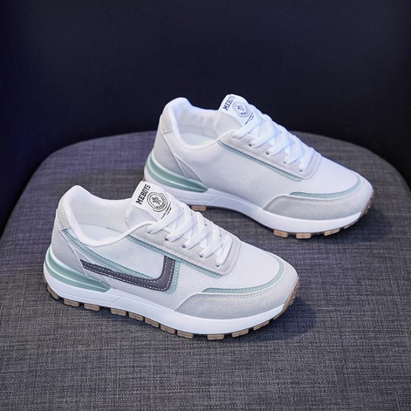 ins百搭阿甘鞋女2021春季新款韩版学生休闲运动鞋女厚底跑步鞋子