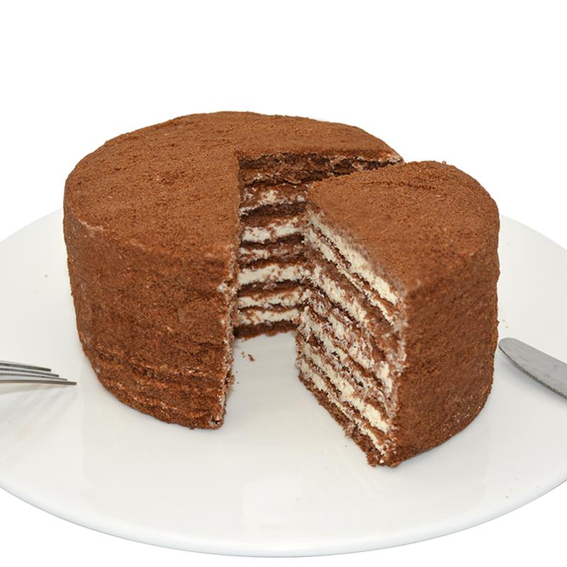 俄罗斯进口SAMKOND  双山  提拉米苏千层蛋糕 500g *2