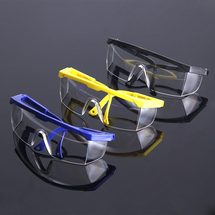 透明护目防护眼镜防冲击防风沙骑行工业化学实验器材眼罩劳保风镜