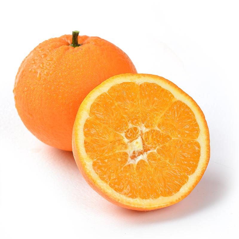 拍2件,现摘四川新鲜金堂脐橙 8斤