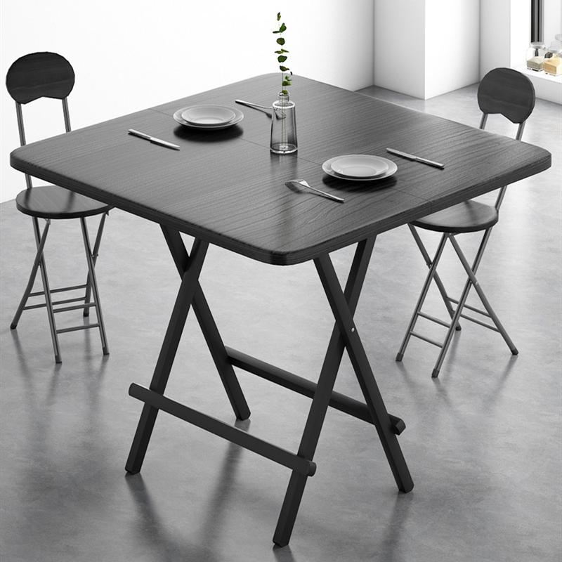 可折叠桌简约餐桌出租屋家用