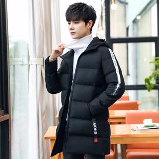 中长款外套男冬季棉服休闲棉衣棉袄冬装
