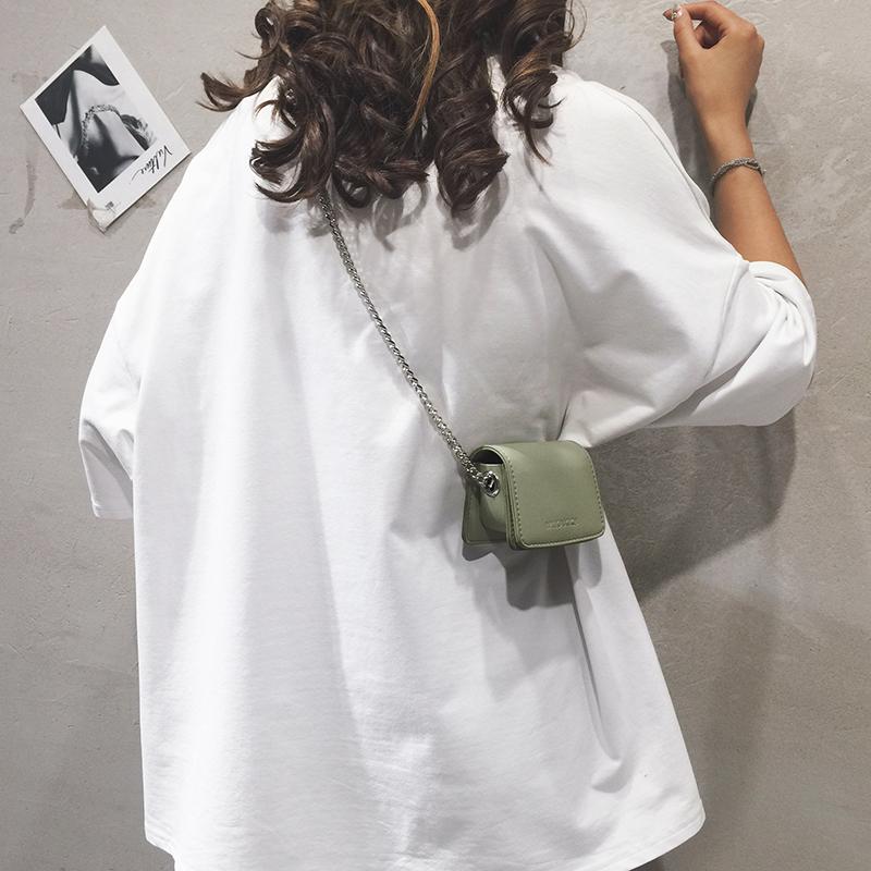 迷你小包包女包新款夏天个性小方包休闲少女链条单肩斜挎包潮