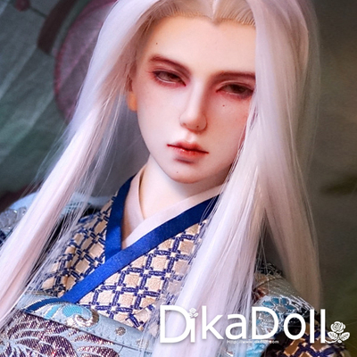 taobao agent Dikadoll DK70 Uncle Qinglu Fire Daily Edition Kimono Hand Hook Beauty Point Wig BJD Baby Clothing Accessories
