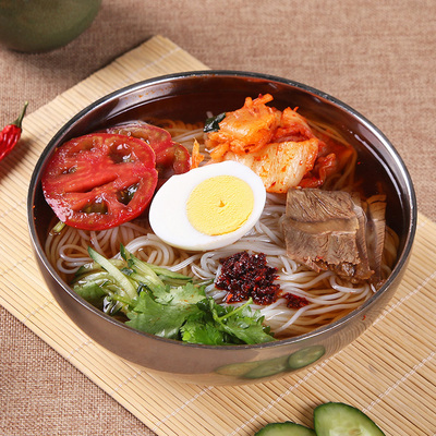 一起吃朝鮮冷面真空袋裝東北大冷面正宗包郵韓國韓式延吉速食小吃