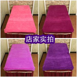 Beauty salon linen nguồn cung cấp massage therapy massage pedicure giường lớn giường đặc biệt khăn lớn khăn tắm bán buôn với lỗ
