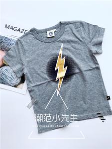 Mỹ DC Phim Hoạt Hình Flash Trẻ Em Mới của Ngắn Tay Áo T Chàng Trai Nóng Dập Bông T-Shirt Tops