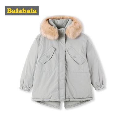 【巴拉巴拉】新款冬季儿童轻薄羽绒服鸭绒