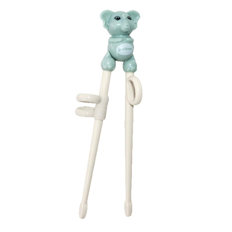 pekboo儿童筷子训练筷 宝宝一段学习筷健康环保练习筷餐具套装