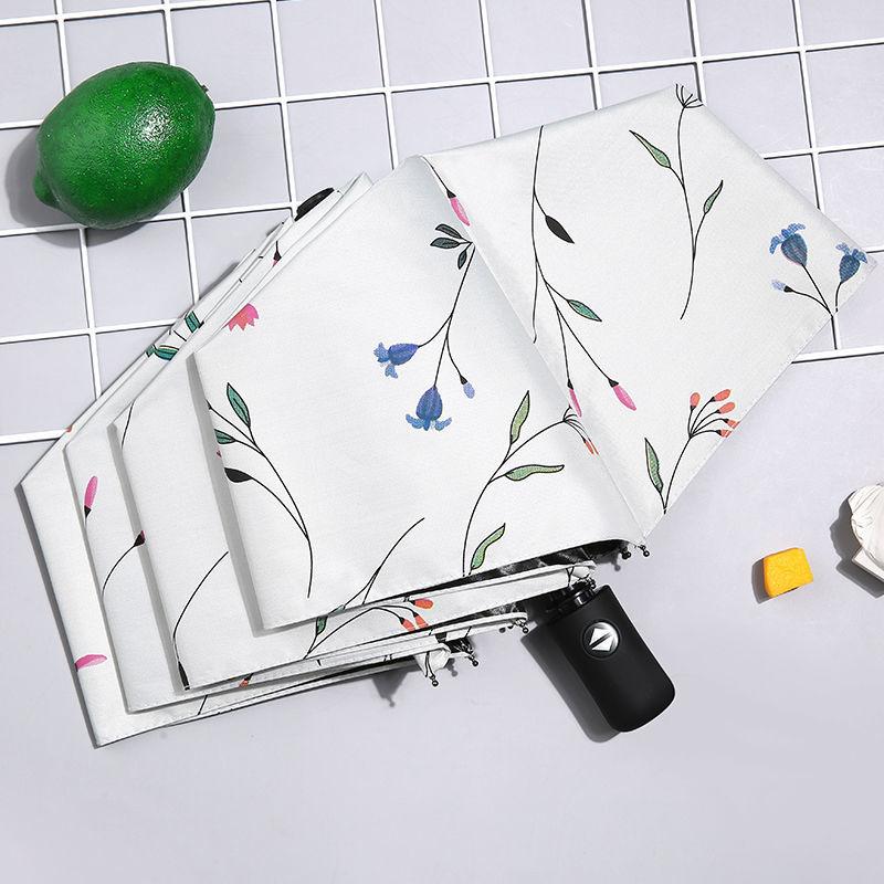 居家日用折叠自动ins雨伞学生晴雨