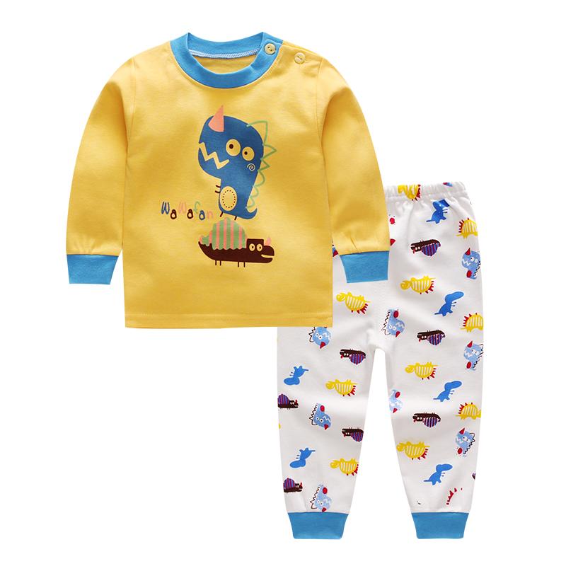 儿童内衣套装0-1-2-3-4岁男童女童