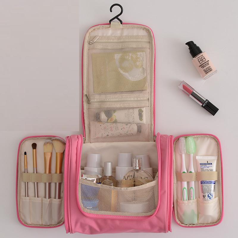 Túi rửa nam và nữ trang điểm túi du lịch không thấm nước làm sạch chăm sóc cung cấp lưu trữ di động du lịch đa chức năng lớn