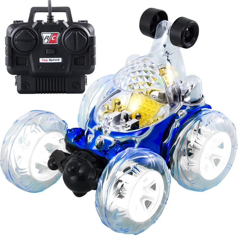 遥控车特技翻滚翻斗车越野车玩具车