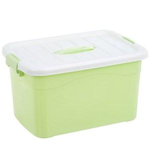Trung bình 65L máy tính để bàn nhỏ hoàn thiện hộp lưu trữ lớn hộp lưu trữ lớn bằng nhựa hộp trong suốt