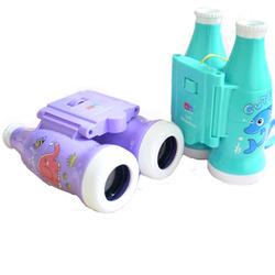 儿童卡通户外望远镜 男女孩高清双筒玩具学生礼物望眼镜3-6-9周岁