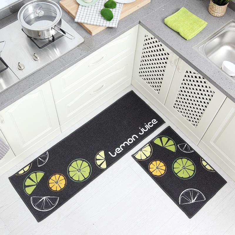 厨房吸水防滑地垫2条组合装券后9.0元包邮