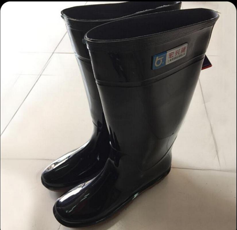 宏兴隆888橡塑劳保防护雨靴成人防水雨鞋