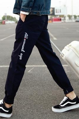 Quần nam mùa hè phần mỏng nam tự trồng harem quần chân quần âu lỏng chùm quần quần quần Hàn Quốc phiên bản của quần bó sát Quần Harem