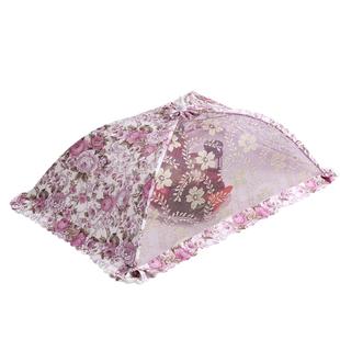 菜罩可折疊餐桌罩飯菜罩剩飯罩防蒼蠅餐桌罩蓋菜罩圓形家用菜罩