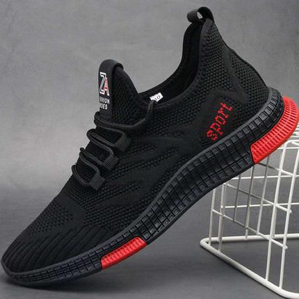 <font color='red'><b>男</b></font><font color='red'><b>鞋</b></font>夏季<font color='red'><b>运动鞋</b></font>网面飞织鞋子