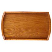 日式简约长方形木托盘茶杯茶水杯子竹木质