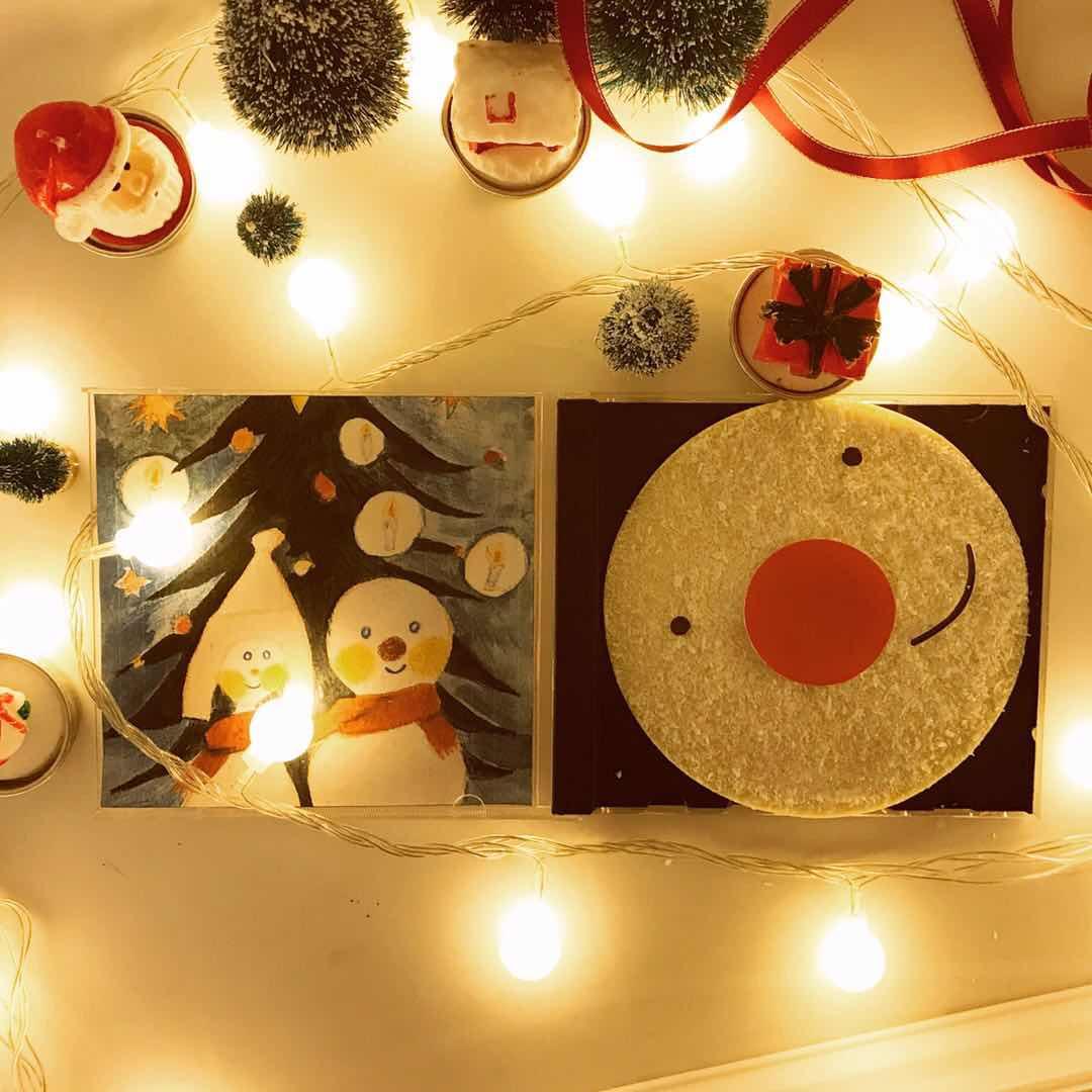 圣诞CD巧克力,送女友全员圣诞礼物