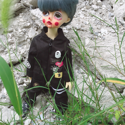 taobao agent ht trend doll bjd blythe tooling jumpsuit super handsome trendy brand jumpsuit 3 colors available