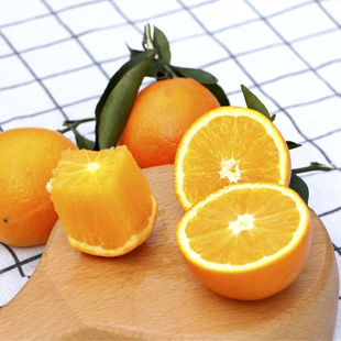 正宗赣南脐橙5斤左右手剥橙子
