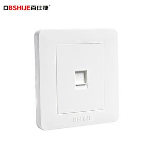 【百仕捷】电脑网络网线宽带插座面板
