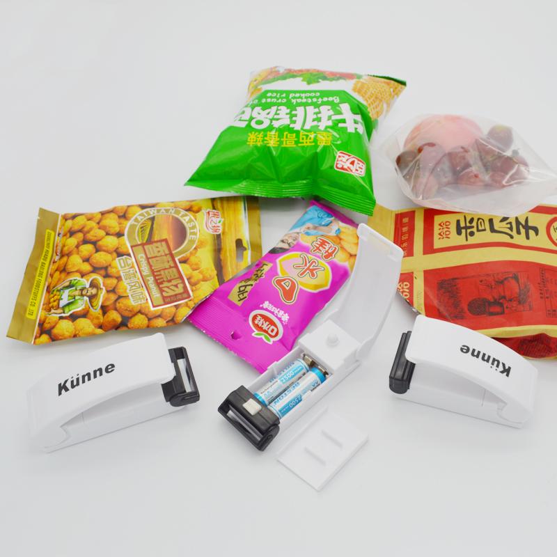 香港加莱尼便携封口机家用迷你手压电热封口器茶叶真空零食保鲜袋
