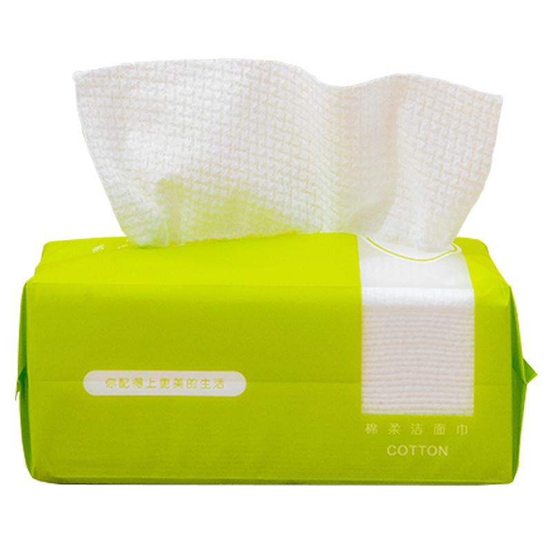 【拍2发3】纯棉洗脸巾100抽